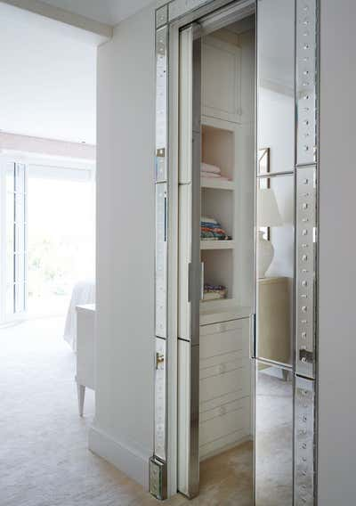 Mediterranean Storage Room and Closet. Cap Ferrat by Thorp.