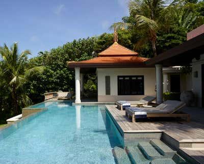 Coastal Patio and Deck. Villa - Thailand by Thorp.