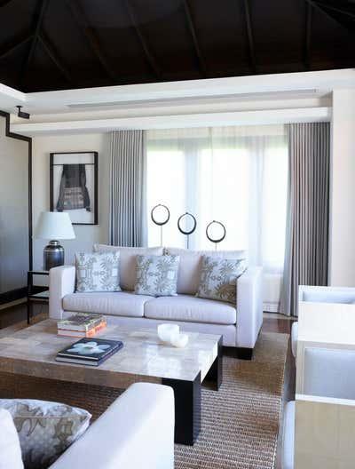 Coastal Living Room. Villa - Thailand by Thorp.