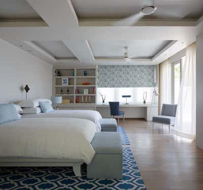 Coastal Bedroom. Villa - Thailand by Thorp.