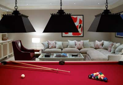 British Colonial Bar and Game Room. The Hamptons by Thorp.