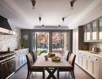 Modern Kitchen. Greek Revival Townhouse by Deborah Berke Partners.