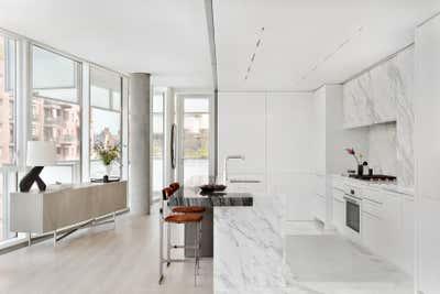 Contemporary Kitchen. Greenwich Village Apartment by Workshop APD.
