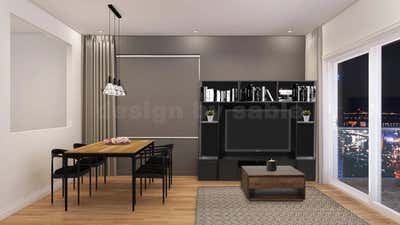 Design by Sable - Barcelona Bachelor Flat