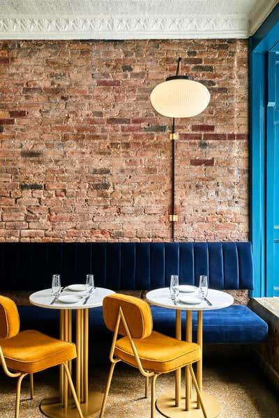 Restaurant Dining Room. Sweet Rehab by Leroy Street Studio.