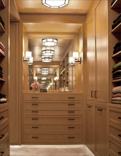 Contemporary Storage Room and Closet. Central Park Residence by Sandra Nunnerley Inc..