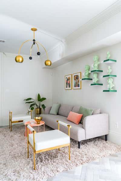 Art Deco Family Home Open Plan. New Orleans Garden District Home  by Maureen Stevens.