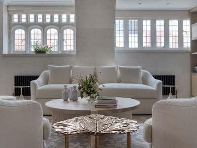 Contemporary Living Room. Park street by Rebecca James Studio.