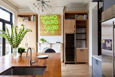 Preppy Kitchen. Fort Greene Townhouse by BarlisWedlick Architects LLC.