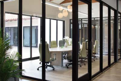 Modern Meeting Room. Office on PCH by The Luster Kind.