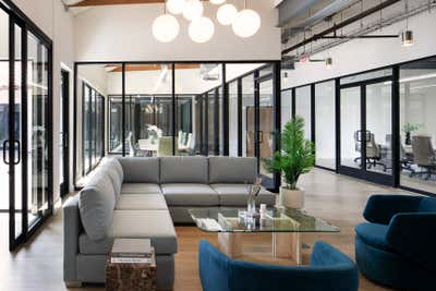 Modern Lobby and Reception. Office on PCH by The Luster Kind.