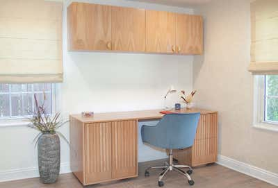 Modern Office and Study. Residential Office by The Luster Kind.