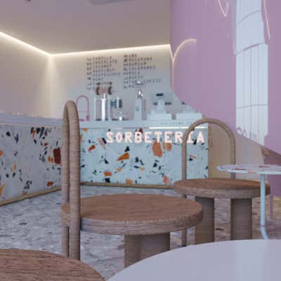 Restaurant Bar and Game Room. Sorbeteria  by Craftogram.