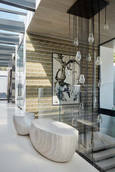 Art Deco Entry and Hall. Doheny Estates by Jeff Andrews - Design.
