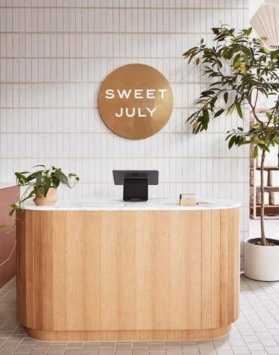 Modern Lobby and Reception. Sweet July by Form + Field .