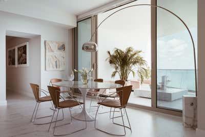 Coastal Dining Room. Miami Paradise by Night Palm Studio.