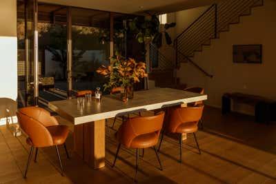 Coastal Dining Room. SF Beach House by Night Palm Studio.