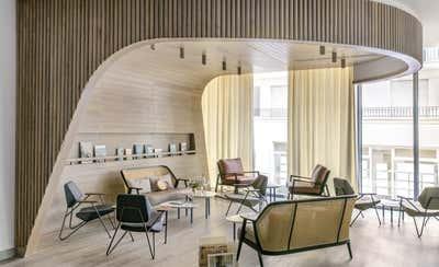 Hotel Living Room. Okko Hotels by Studio Catoir.