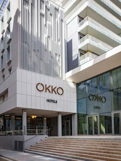 Hotel Exterior. Okko Hotels by Studio Catoir.