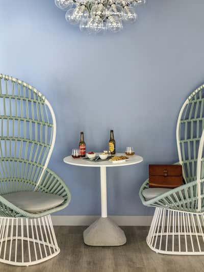 Beach Style Dining Room. Okko Hotels by Studio Catoir.