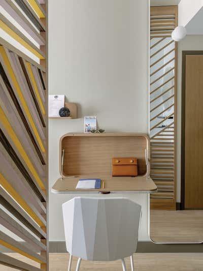 Hotel Bedroom. Okko Hotels by Studio Catoir.