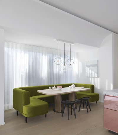 Contemporary Dining Room. Penthouse Munich by Studio Catoir.