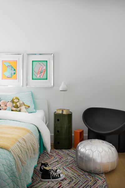 Beach Style Children's Room. Pine Needles by Michael Hilal.