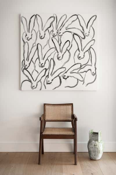 Beach Style Living Room. Pine Needles by Michael Hilal.