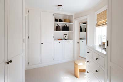 French Storage Room and Closet. Lake Harriet Residence by Two 7 Interiors.