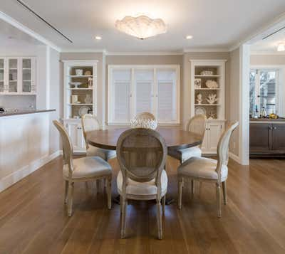 Beach Style Dining Room. Broad Beach by Partridge Designs.