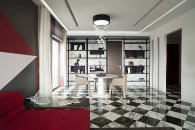 Contemporary Dining Room. Millenia Apartment by Sergio Mannino Studio.