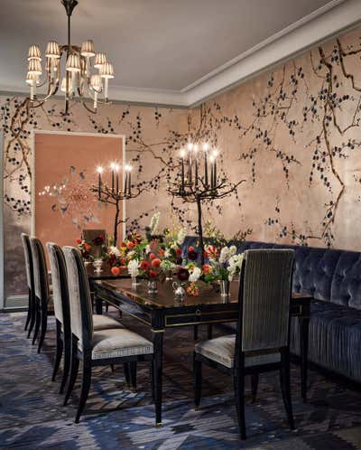 Art Deco Dining Room. Upper East Side Townhouse by CARLOS DAVID.