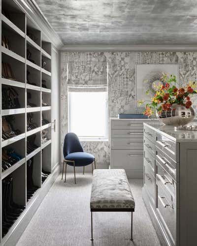 Art Deco Storage Room and Closet. Upper East Side Townhouse by CARLOS DAVID.