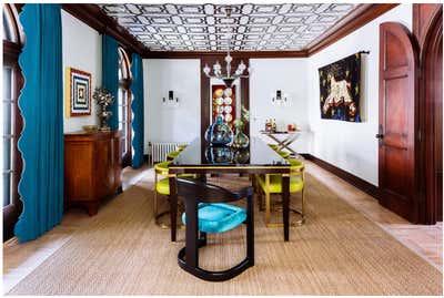 Mediterranean Dining Room. Casa SxS by Maison MxM.