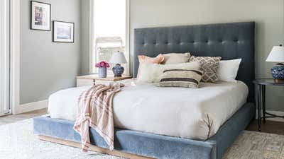 Mid-Century Modern Bedroom. Open & Airy by Kristen Elizabeth Design Group.