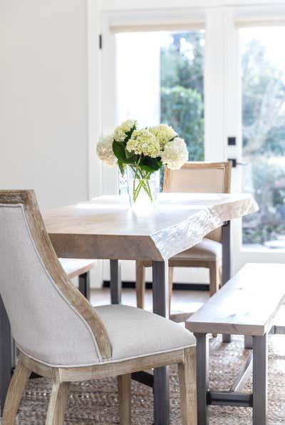Mid-Century Modern Dining Room. Open & Airy by Kristen Elizabeth Design Group.