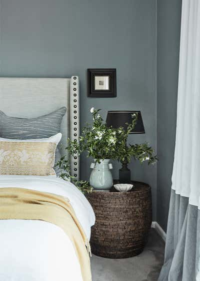 Traditional Bedroom. North Shore Spanish Mission by Studio Kate Pty Ltd.