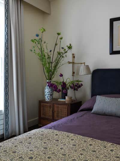 Modern Bedroom. West Village Townhouse by Casey Kenyon Studio.