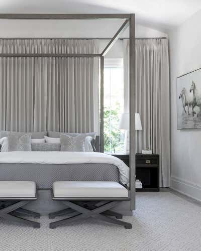Transitional Bedroom. Neoclassical Revisited by Benjamin Johnston Design.