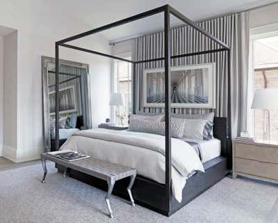 Transitional Bedroom. Townhouse Tour by Benjamin Johnston Design.