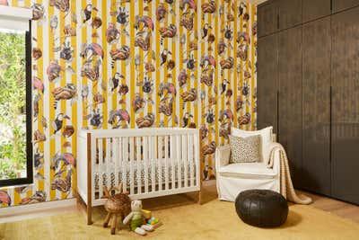 Western Children's Room. The Hamptons in Studio City by 22 INTERIORS.