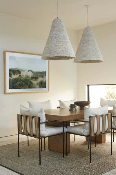 Western Dining Room. The Hamptons in Studio City by 22 INTERIORS.