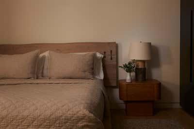 Western Bedroom. The Hamptons in Studio City by 22 INTERIORS.