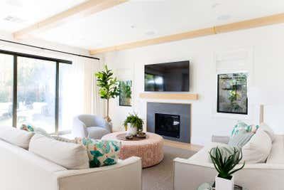 Bohemian Living Room. Marine Farmhouse by 22 INTERIORS.