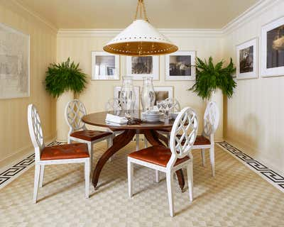 Transitional Dining Room. West End Residence by Jeremy D. Clark, LLC..
