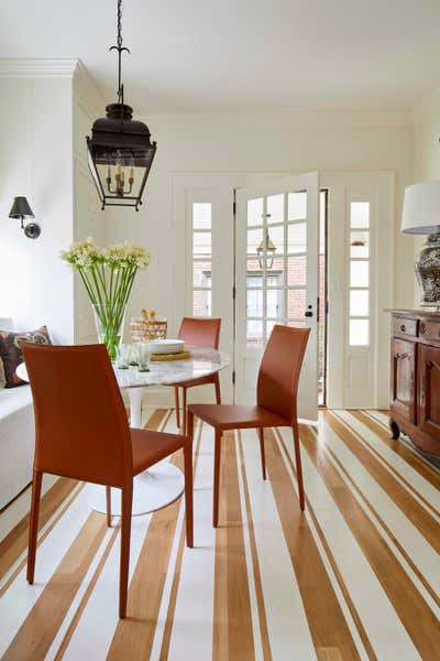 Contemporary Dining Room. Forest Park Georgian by Jeremy D. Clark, LLC..