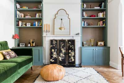 Art Deco Living Room. Dulwich Delight by Anouska Tamony Ltd..