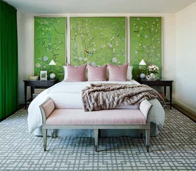 Contemporary Bedroom. Pacific Heights Jewel by McCaffrey Design Group.