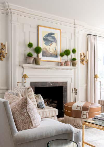 British Colonial Living Room. Project Pemberton by Kristen Nix Interiors.