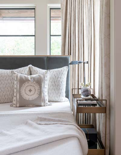 Contemporary Bedroom. Playing with Scale by Kristen Nix Interiors.